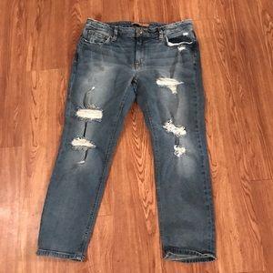Joes boyfriend crop jeans pants size 30